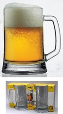 PUB pivní s uchem 500ml hladký 2ks