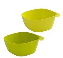 Miska BAILANGO 2ks plast 14x14x7cm mix barev
