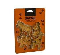 Vykrajovačky safari 4 ks 8cm
