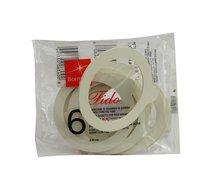 FIDO gumové těsnění průměr 80mm 6ks