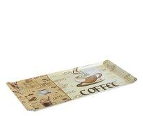 Tác melamin 37x16x1,5cm Coffee