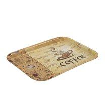 Tácek melamin 31 x 22,5 cm Coffee