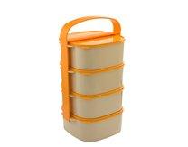 Jídlonosič plast 4-dílný standart 4x1,2l CZ