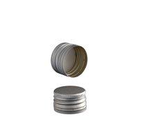 Uzávěr PP28 plech stříbrná se závitem