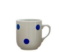 Hrnek Trojka 300ml Modrý puntík