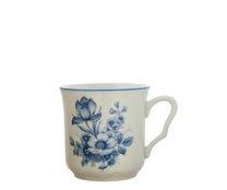 Hrnek Karel 270ml modrý květ