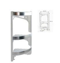 Polička koupelnová rohová v56cm/š30,5cm/h20cm