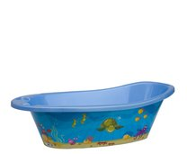 Dětská vanička plast 82cm modrá moře