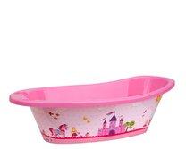 Dětská vanička plast 82cm růžová princezny