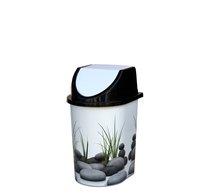 Odpadkový koš klip 5,7l dekor kameny