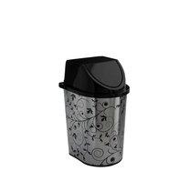 Odpad. koš klip  5,7l dekor listy