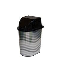 Odpadkový koš klip 5,7l dekor vlnky
