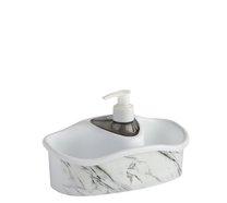 Dávkovač mýdla-jaru široký mramor bílý