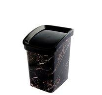 Odpad koš CLICK BIN 6l mramor černý