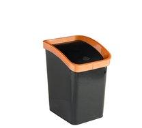 Odpadkový koš klip 3,3l černý