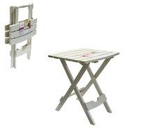 Stůl rozkládací malý/béžový 44,5x38,5x48,5cm