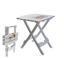 Stůl rozkládací malý/bílý 44,5x38,5x48,5cm