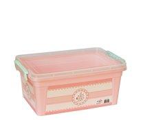 Box plastový 10l 36x23x16cm PINK ROSE