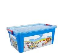 Box plastový 20l modrá auta 47x31x19,5cm