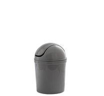 Odpadkový koš MINI 19cm plast/bílá/šedá/modrá
