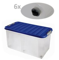 Box CLIP 100L 80x40x40cm mix