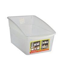 Box plast čirý zkosený 16x23cm/výška11-16cm