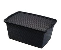 Box RATTAN 59x39x26 40l antracit