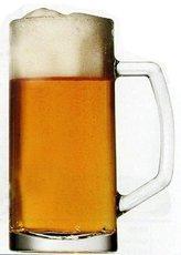 BERNA pivní s uchem 400ml cejch