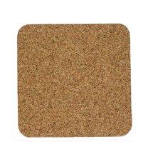 Korkové prostírání 4ks čtverec 19,5 x 19,5 cm