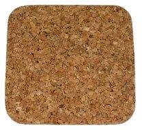 Korkové prostírání 6ks čtverec 9,6 x 9,6 cm