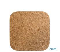 Korkové pr. čtverec pod horké nádobí 25 x 25 x 0,7 cm