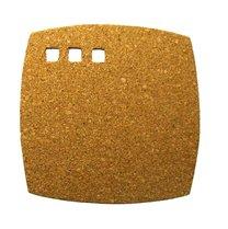 Korkové pr. čtverec pod horké nádobí 19,5 x 19,5 x 0,7 cm
