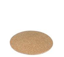 Korkové pr. kulaté pod horké nádobí prům 19,5 cm x 0,7 cm