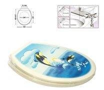 WC deska delfín