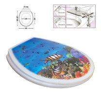 WC deska ryby moře