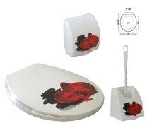 WC set 4 díly Romance orchidej kameny