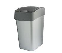 Odpadkový koš FLIP BIN 25L antracit/stříbrná
