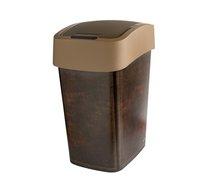 Odpadkový koš PACIFIC 25L kůže hnědá
