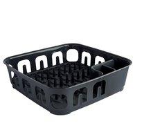 Odkapávač na nádobí ESSENTIALS černá 40x40x11cm