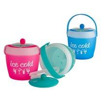 Kbelík na led,zmrzlinu 1,8L 17x16,5cm/růžová,zelená,modrá