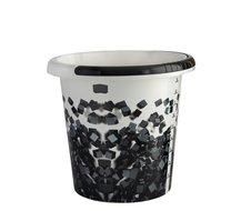 Vědro 10 l černé kostky