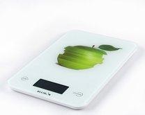 váha kuchyňská dekor jablko