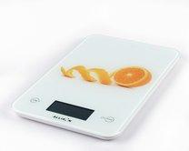 váha kuchyňská dekor pomeranč