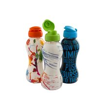 Láhev plastová na vodu 0,6l, 4 motivy