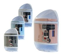 Rohová skříňka do koupelny/růžová,bílá,šedá,modrá/34x22,5x47cm
