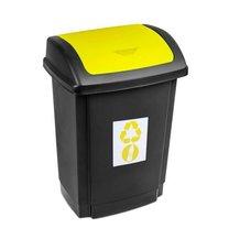 Odpadkový koš SWING 25L žlutý