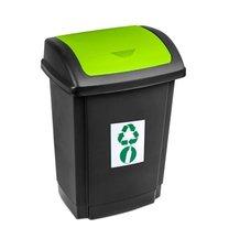 Odpadkový koš SWING 25L zelený