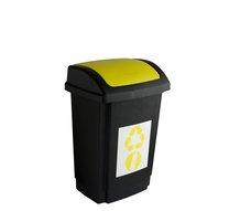 Odpadkový koš SWING 10L žlutá
