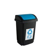 Odpadkový koš SWING 10L modrá