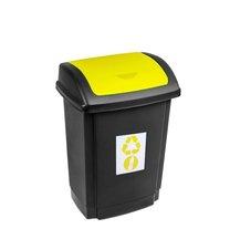 Odpadkový koš SWING 15L žlutá